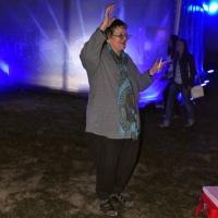 """Tanti Juji, la 70 de ani, a venit să se distreze la """"Peninsula"""""""