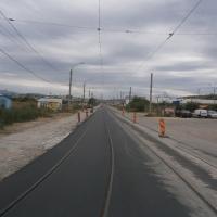 Linia de tramvai finalizată/Foto:Radu Bărăian