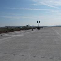Lucrările finalizate la pista de 2100 m/Foto:Laura Goarnă