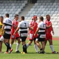 "Rugby/ ""U"" Cluj - Dinamo 13-17"