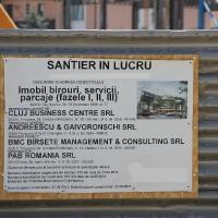 Șantierul The Office, Cluj