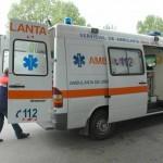 Mai multe ambulanţe au transportat bolnavii la Spitalul de Boli Infecţioase