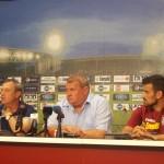 Rednic,   Mureșan și Cadu,   optimiști înaintea startului campionatului/ Foto: Radu Bărăian
