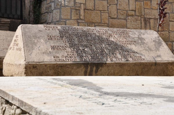 Unul din cele mai vechi sicrie din piatra/Foto: Alex Bogdan Pop