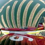 Imagine surprinsă în timpul show-ului aviatic din Dubai