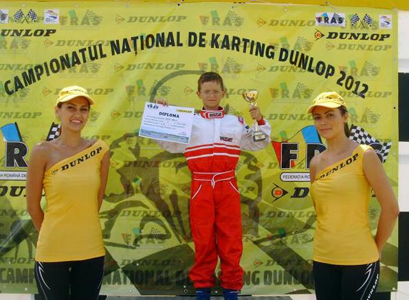 În 2012,   campion național pentru al doilea an consecutiv
