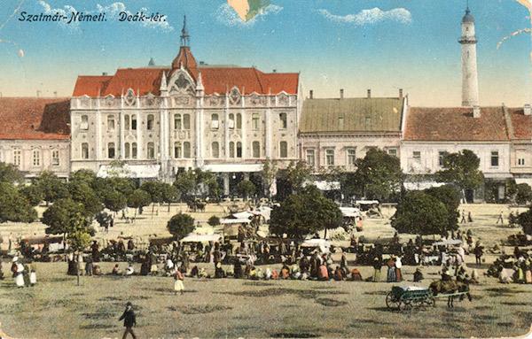 Centrul orașului Satu Mare în perioada interbelică