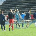 Jucătorii Olimpiei efectuează două antrenamente pe zi