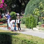Cișmeaua din parcul din Piața Libertății, la mare căutare