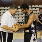 Niksa Bavcevic (foto stânga) împreună cu Paul Chetreanu/Foto: Dan Bodea