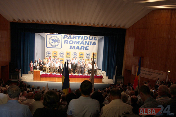 Congresul PRM de la Alba Iulia / Sursa foto:  alba24.ro