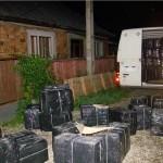 Întreaga cantitate de țigări a fost confiscată / Sursa foto: ijpfmm.ro