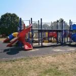 """Locul de joacă din Parcul """"Cetățuia""""/Foto: Laura Goarnă"""