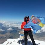 Steagul Municipiului Baia Mare a ajuns pe cel mai înalt vârf al Europei