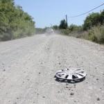 Traseul Gherla-Geaca este un coșmar pentru automobiliști/ Foto: Dan Bodea