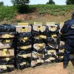 Polițiștii de frontieră au  descoperit peste 20.000 de pachete de țigări