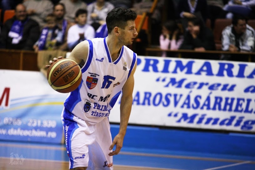 Gediminas Navickas nu va mai evolua la BC Mures în sezonul viitor/ foto: totalbaschet.ro