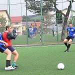 Alin Gherman (foto în roşu) visează să joace la Steaua/ Foto: Tiberiu Matei