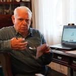 Ion Pitty Vintilă,   clujeanul care deţine jazz-ul mondial în propria sufragerie/ Foto: Dan Bodea
