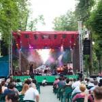 Jazz in the Park este una dintre principalele atracții ale acestui sfârșit de săptămână