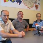 Reprezentaţii IPJ,   ai Parchetului şi au DGA au prezentat cazul într-o conferinţă de presă