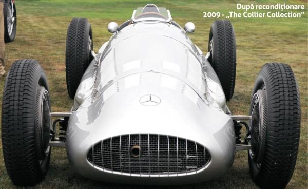 Un Mercedes, după recondiționare