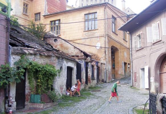 Unul dintre cele mai frumoase oraș din Europa Centrală