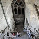 Intrarea în turnul Bisericii Sf. Mihail