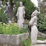 Cimitirul Hazsongard abundă de monumente de mare valoare/ Foto: Alexandru Bogdan Pop