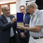 Fostul rugby-ist Mircea Rusu a fost omagiat cu oacazia aniversării a 80 de ani