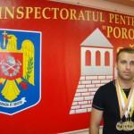 Pompierul sălăjean Dan Fărcaş,   cel mai bun pompier din ţară la tenis de masă