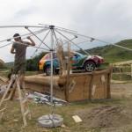 Fostul poligon de la Valea Gârbăului se transformă în scenă de festival/ Foto: Radu Bărăian