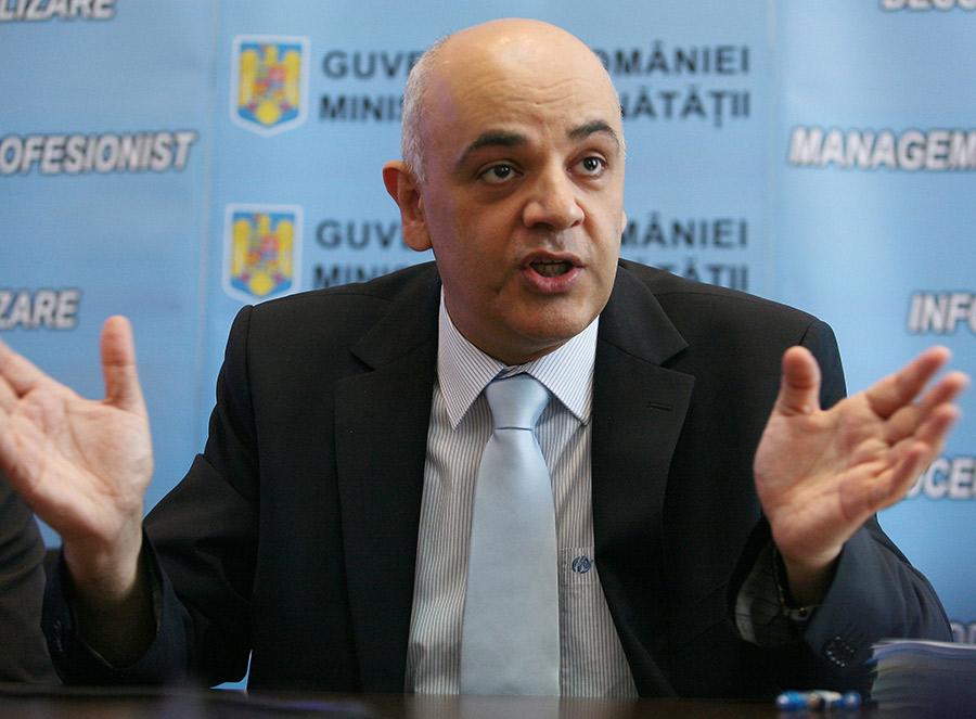 Raed Arafat,   secretar de stat în cadrul Ministrerului Sănătăţii / Sursa foto:  vivafm.ro