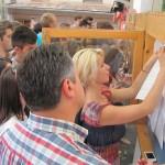 Rata de promovare după prima sesiune a fost în Sălaj de 58,34 la sută