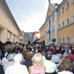 Peste 1.500 de persoane la inaugurarea primei străzi pietonale din Sighetu Marmației