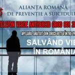 Asociaţia Românǎ de Prevenţie a Suicidului (ARPS) a deschis o linie telefonicǎ de tip TelVerde, prin intermediul cǎreia oferǎ consultanţǎ persoanelor aflate în crizǎ suicidarǎ