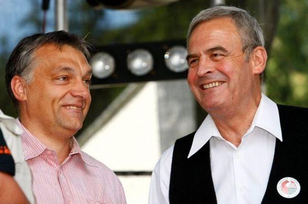 Victor Orban și Laszlo Tokes / Sursa foto: ghimpele.ro