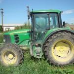 Tractorul figura ca fiind furat din Italia din anul 2008 / Sursa foto: ijpfmm.ro