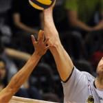 Vojislav Skoric (foto în alb) va evolua la fosta campioană a României,   Volei Municipal Zalău