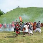 Dacii romanii se mai bat,   din când în când,   și după 1907 ani.