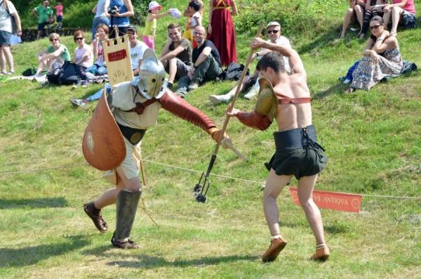 Luptă de gladiatori