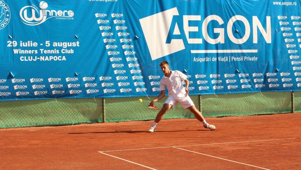 Terenurile de zgură din Parcul Rozelor găzduiesc meciurile celei de a IV-a ediții a Aegon Junior Open