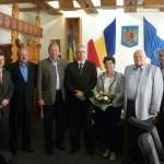 Reprezentanții Zollner au avut o întâlnire cu autoritățile județene