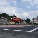 Heliportul din Borşa,   inaugurat cu un caz dramatic