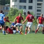 Învinși la București,   de către Steaua,   rugby-iștii de la Știința Baia Mare încep să aibă emoții pentru locul 2 în SuperLiga Națională