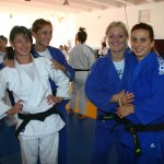 Monica Ungureanu, Carmen Bogdan și Corina Căprioriu, de la stânga la dreapta, vor încerca să depășească perfiormanțele Alinei Dumitru (foto, ultima, în dreapta)/ FOTO Dan Bodea