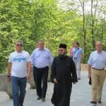Preşedintele Camerei Deputaţilor a vizitat Mănăstirea Rohia