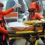 Copilul a fost urcat în avion la Cluj