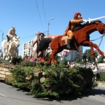 Caravana Florilor vine de la Debrecen
