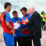 Staff-ul tehnic al Gloriei Bistrița caută formula de echipă cu care să atace promovarea în Liga I/ FOTO: Dan Bodea